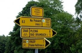 2062 Doubrava - Horní Paseky - pramen Bílý Halštrov - Výhledy